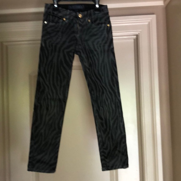 42b5c018284a Juicy Couture Bottoms   Animal Print Girls Jeans   Poshmark